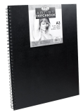Royal Langnickel black sketch book - A3, 80 lap