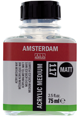 Amsterdam médium akrilhoz matt 117 - 75 ml