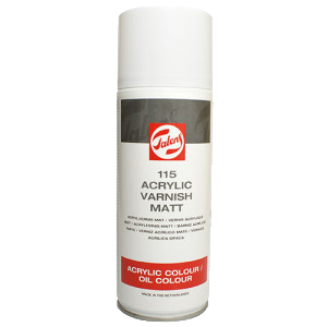 Talens akril matt lakk spray-ben akrilhoz/olajhoz 115 - 400 ml