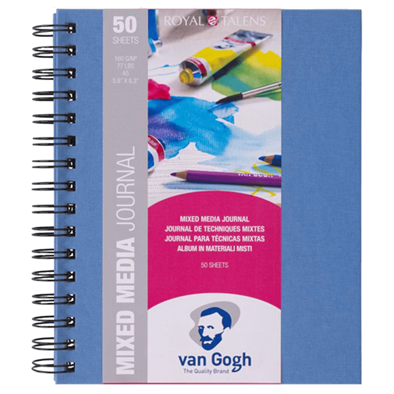 Blokk Van Gogh Mixed Media Journal 14,8x21 cm (A5), 160 g, 50 lap