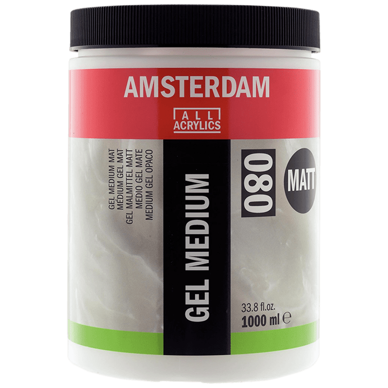 Amsterdam gél médium matt 080 - 1000 ml